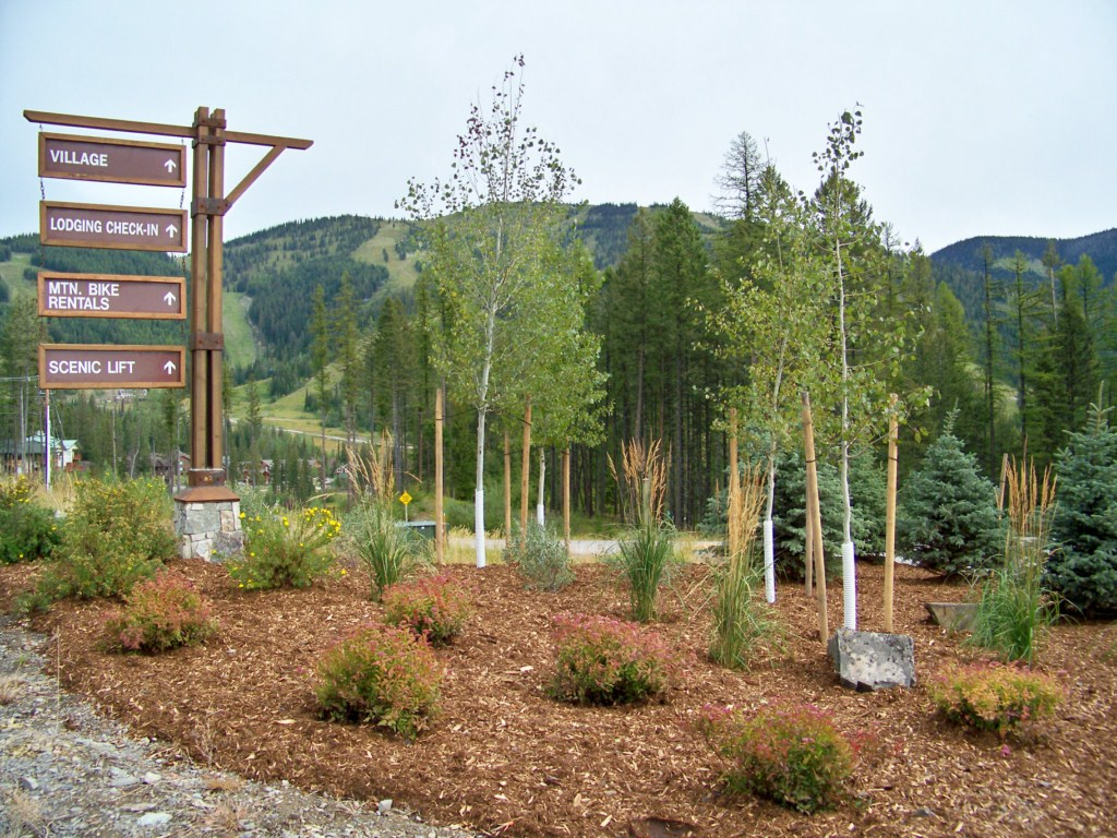 Sign Landscaping